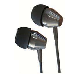 Black Handsfree Earbuds, with Microphone thumb