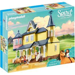 Lucky and Spirit Happy Home Horse Playset thumb