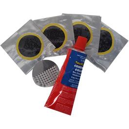 6 Piece Rubber Foil Backed Repair Kit thumb