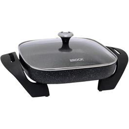 "12"" Non Stick Square Electric Skillet, with Glass Lid thumb"
