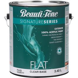 3.40L Flat Finish Clear Base Exterior Latex Paint thumb