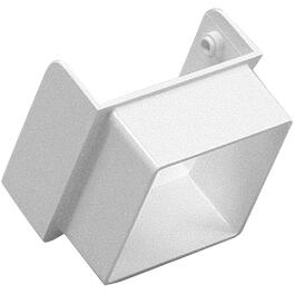 Contemporary White Vinyl Downspout Diverter thumb
