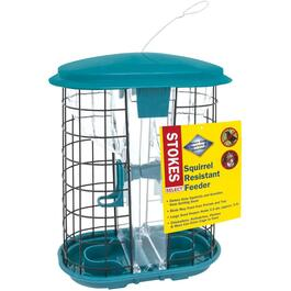 3.5 Quart Capacity Squirrel Resistant Bird Feeder thumb