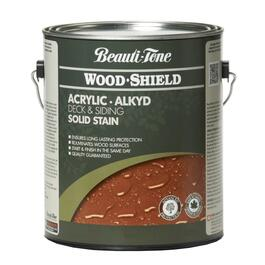 3.64L Solid Redwood Alkyd Acrylic Wood Stain thumb