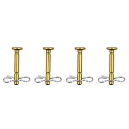 "4 Pack 1/4"" x 1-3/4"" Shear Pins, with Cotter Pins thumb"