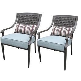 2 Pack Hampton Dining Chairs, with Cushions thumb