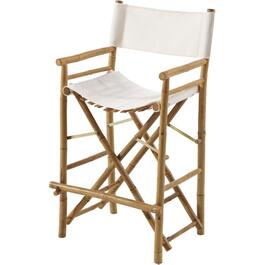 "2 Pack 44"" Bamboo Director Bar Height Chairs thumb"