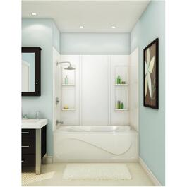 "59"" Elan White Acrylic Tub Wall thumb"