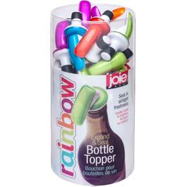 Expand and Seal Wine Bottle Stopper, Assorted Colours thumb