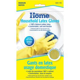 Medium Latex Household Gloves thumb