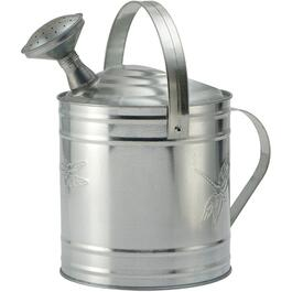8L Dragonfly Galvanized Watering Can thumb