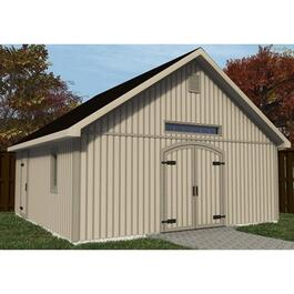 20' x 20' Workshop Package, with Decorative Plywood thumb