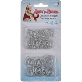 40 Pack Scroll Ornament Hangers thumb