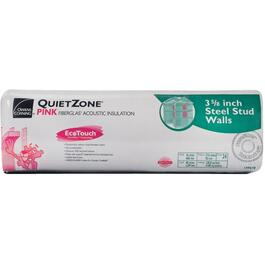 "3.5"" x 16"" Quietzone Pink Insulation, covers 128 sq. ft. thumb"