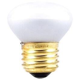 40W R14 Medium Base Inside Frost Light Bulb thumb