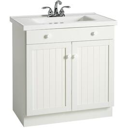 "30"" x 18"" Cape Cod 2 Door White Vanity thumb"