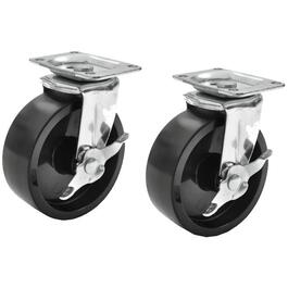 "4 Pack 5"" Brake and Swivel Casters, for Gearbox thumb"