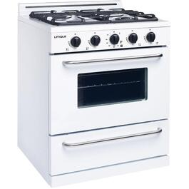 "30"" White Off Grid Propane Range thumb"