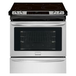 "30"" 4.6 cu. ft. Stainless Steel Slide-In Electric Range thumb"