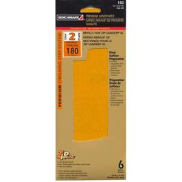 6 Pack 180 Grit Hook and Loop Sandpaper Refills thumb