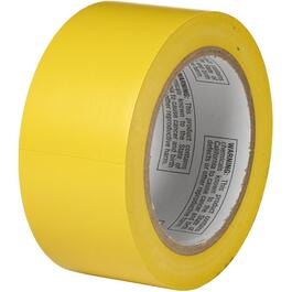 "2"" x 108' Yellow PVC Floor Marking Tape thumb"