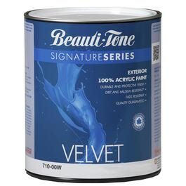 870mL Velvet Finish Medium Base Exterior Latex Paint thumb