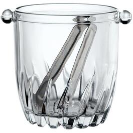 32oz Glass Moncayo Ice Bucket, with Tongs thumb