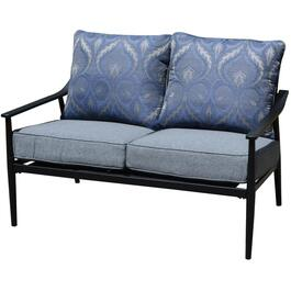 Ratana Metal Loveseat, with Cushions thumb