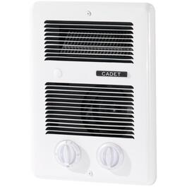 Com-Pak 240 Volt 1300 Watt White Bathroom Fan Forced Wall Heater thumb