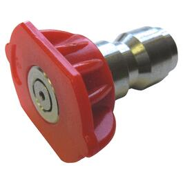 "1/4"" 0 Degrees Red Spray Nozzle thumb"