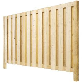 6' Pressure Treated Vertical Board On Board Privacy Fence Package thumb