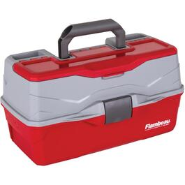 Red 3 Tray Tackle Box thumb