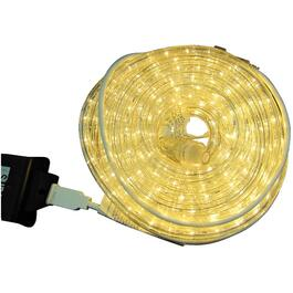 39' Warm White LED Round Ropelight thumb