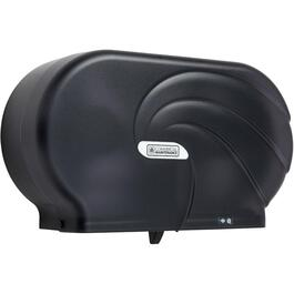 "9"" Black Twin Jumbo Bath Tissue Dispenser thumb"