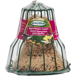 454g Mixed Bird Food Bell and Feeder thumb