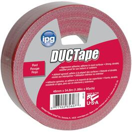 48mm x 54.8M Red Cloth Duct Tape thumb