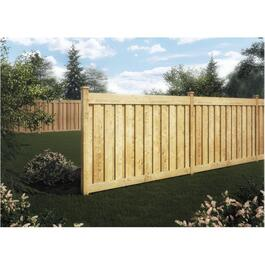 5' Pressure Treated 1x6 Top & Bottom Fence Package thumb