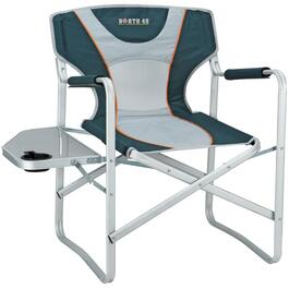 Aluminum Directors Camping Chair, with Side Table thumb
