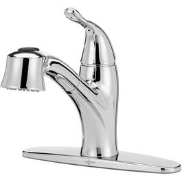 Kelby Chrome Pullout Kitchen Faucet thumb