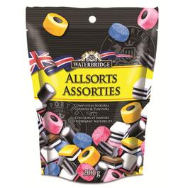 200g Allsorts Licorice Candy thumb