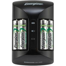 Battery Charger, for AA & AAA Batteries 4xAA Included thumb