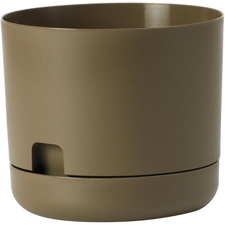 Dcn 10 Self Watering Cappuccino Colour Oasis Planter Home