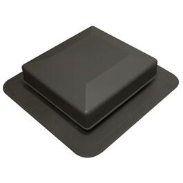 75 Square Inch Black Roof Vent thumb