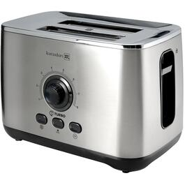 2 Slice Stainless Steel Toaster, with Extra Wide Slots thumb