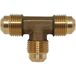 "1/4"" Tube Brass Flare Tee thumb"