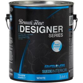 3.64L White Base Suede Finish Interior Latex Paint thumb