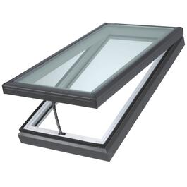 "23"" x 47"" Curb Mount Vent Skylight, with Electric Motor thumb"