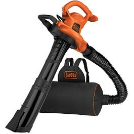 12 Amp Electric Leaf Blower/Vacuum/Mulcher Backpack thumb