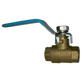 "3/4"" IPS Brass Ball Valve thumb"