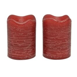 "2"" x 2.5"" 2 Pack Currant Battery-Operated LED Votive Candles thumb"